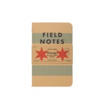 Field Notes Chicago Edition 3 Pack