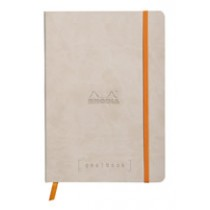 Rhodia Goalbook - Beige, Dot Grid