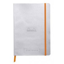 Rhodia Goalbook - Silver, Dot Grid