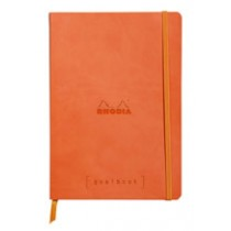 Rhodia Goalbook - Tangerine, Dot Grid