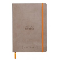 Rhodia Goalbook - Taupe, Dot Grid