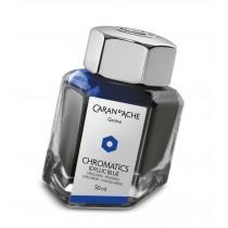 Caran d'Ache Chromatics Bottled Ink Idyllic Blue