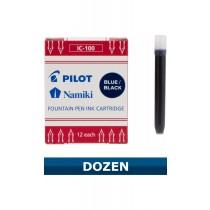 Pilot Namki Blue/Black Ink Cartridges