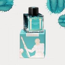Laban Greek Mythology Poseidon Green Bottled Ink