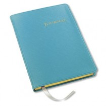 Gallery Leather Desk Journal Key West Turquoise
