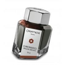 Caran d'Ache Chromatics Bottled Ink Organic Brown