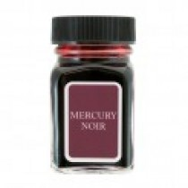 Monteverde Mercury Noir bottled ink 30ml