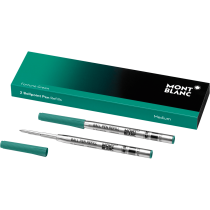 Montblanc Ballpoint Refills Fortune Green Medium  2 Pack