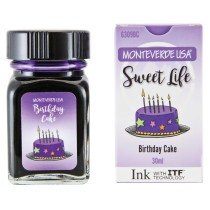 Monteverde Sweet Life Bottled Ink 30mL Birthday Cake