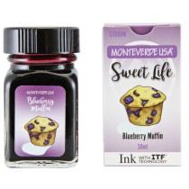 Monteverde Sweet Life Bottled Ink 30mL Blueberry Muffin