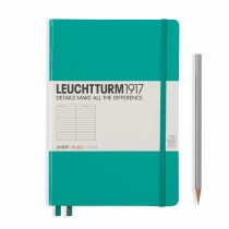 Leuchtturm 1917 A5 Hardcover Journal Emerald