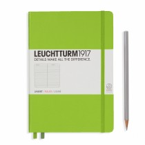 Leuchtturm 1917 A5 Hardcover Journal Lime