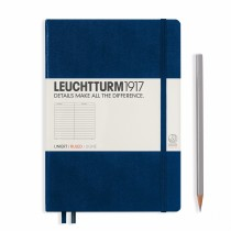 Leuchtturm 1917 A5 Hardcover Journal Navy
