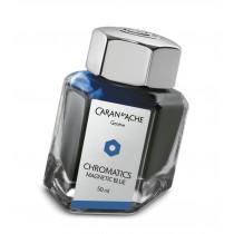Caran d'Ache Chromatics Bottled Ink Magnetic Blue