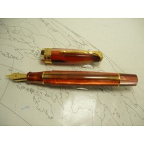Conway Stewart 100 Fountain Pen Carnival Red