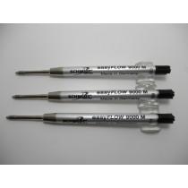 Schmidt EasyFlow 9000 Black Medium Ballpoint Refill 3 Pack