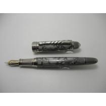 David Oscarson Winter Grey and Rhodium Limited Edition Fountain Pen