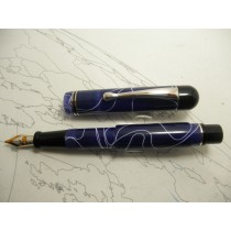 Bexley Blue Lightning Limited Edition Fountain Pen