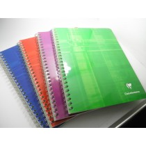 Clairefontaine Multi-Subject Wirebound Multi Color