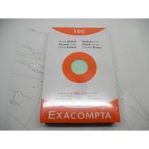 Exacompta Index Cards 4 x 6