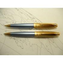 Parker 100 Blue Ballpoint & Pencil Set