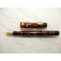 Conway Stewart Collector's Edition Marbled Brown Fountain Pen