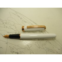 Sheaffer Prelude Pearl White Rose Gold Trim Fountain Pen