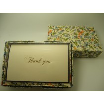 Rossi Stationery Thank You Cards Birds and Butterflies
