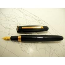 Esterbrook Estie Oversized Fountain Pen Black Gold TrimEsterbrook Estie Oversized Fountain Pen Black Gold Trim