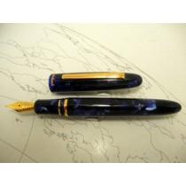 Esterbrook Estie Fountain Pen Ocean Blue Gold Trim