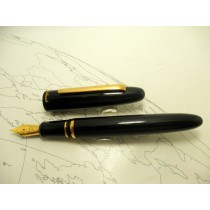Esterbrook Estie Fountain Pen Black Gold Trim