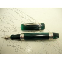 Ancora Perla Green Resin Fountain Pen