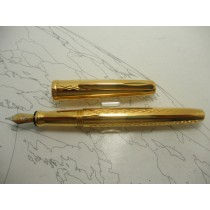 Waterford Lismore Gold Plated Fountain PenWaterford Lismore Gold Plated Fountain Pen