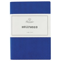 "Pineider Hollywood Notebook ""Mediterraneo"" Blue"