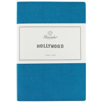 "Pineider Hollywood Notebook ""Paul Newman"" Turquoise"