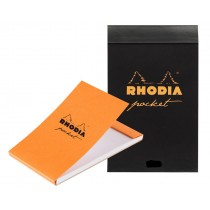 Rhodia Pocket Notepad Black