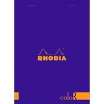Rhodia ColoR Violet A5 Pad