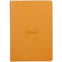 Rhodia Rhodiarama Sewn Spine Notebook Orange