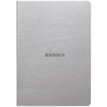 Rhodia Rhodiarama Sewn Spine Notebook Silver