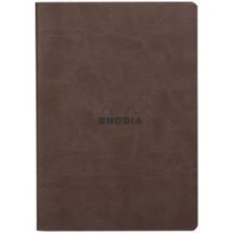 Rhodia Rhodiarama Sewn Spine Notebook Chocolate