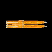 Pelikan Souveran K600 Special Edition Vibrant Orange Ballpoint Pen