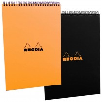 Rhodia No. 18 Black Wirebound Pad