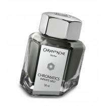 Caran d'Ache Chromatics Bottled Ink Infinite Grey